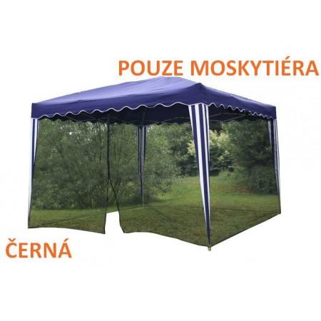 Moskytiéra pro párty stany 3x3 m (rozměr 2x12 m), černá