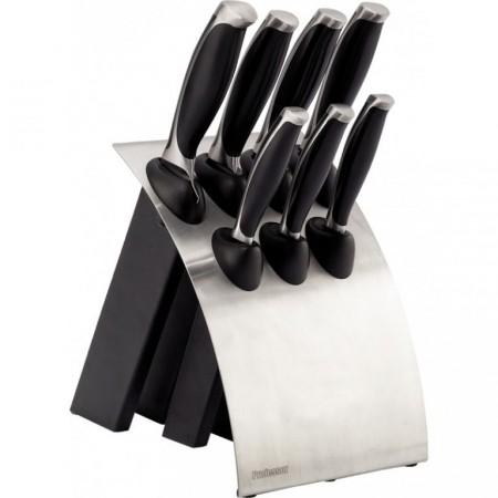 Sada kuchyňských kovaných nožů s držákem 7+1