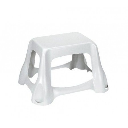 Schůdek / stolička / sedátko, plast, bílá