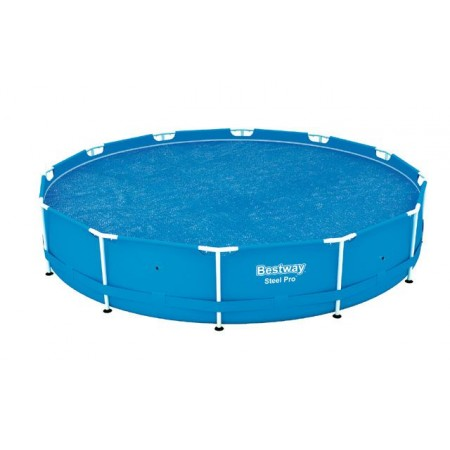 Plachta na bazén 356 cm, solární, modrá