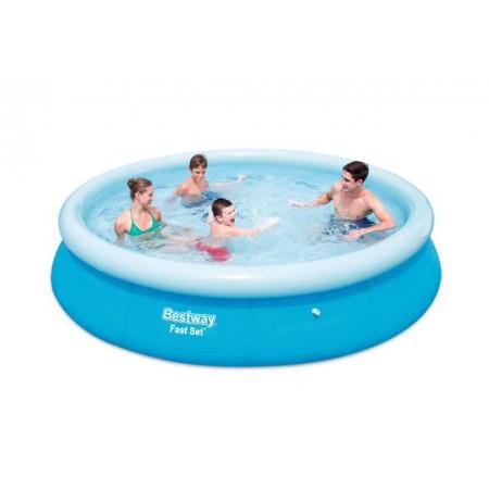 Zahradní bazén s nafukovacím kruhem 366 x 76 cm
