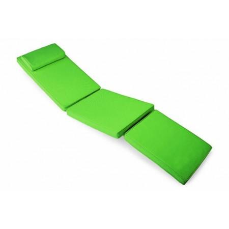 Polstrování na lehátka, snímatelný potah, světle zelené