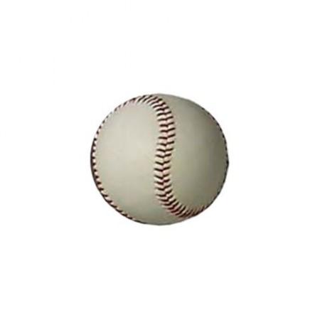 Míček na softball, kožený, průměr 60 mm