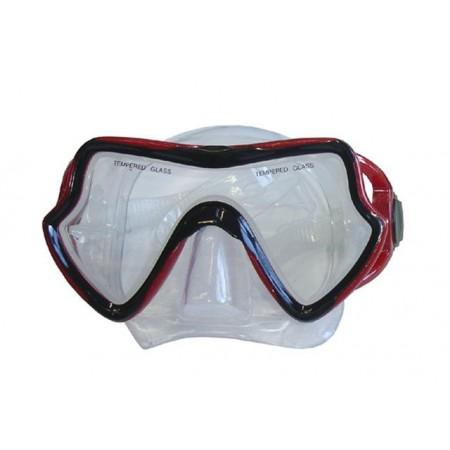 Potápěčské brýle, univerzální, červené