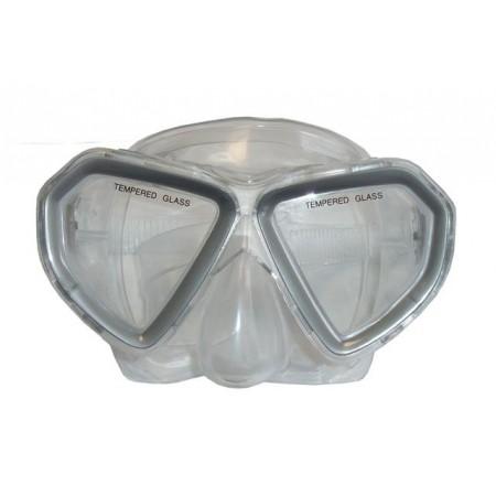 Potápěčské brýle dětské, šedé