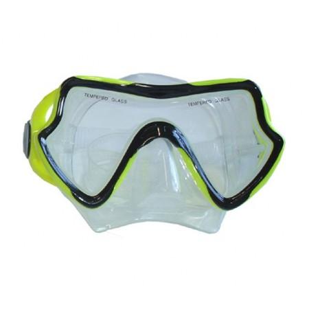 Potápěčské brýle, univerzální, žluté