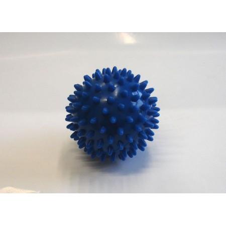 Masážní míček- ježek, průměr 7,5 cm, modrý