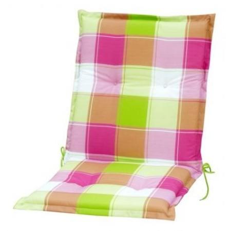 Polstrování na židli s nízkým opěradlem, barevné