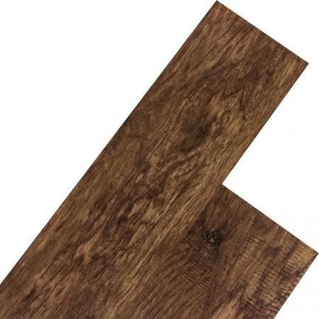 Vinylová podlaha, imitace dřeva - tmavý ořech, 20 m2