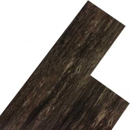 Vinylová podlaha, imitace dřeva - tmavý dub, 20 m2