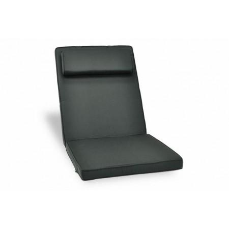Silné polstrování na židle, sundavací potah, antracit