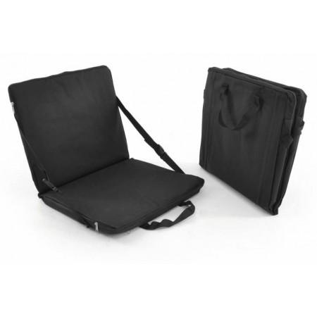 Přenosná židle / polstr s uchy pro přenášení, černá