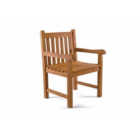 Pevná dřevěná židle z masivu- týkové dřevo