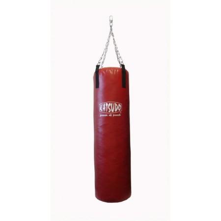 Boxovací pytel 1,2 m, 36 kg, látková střiž, červený