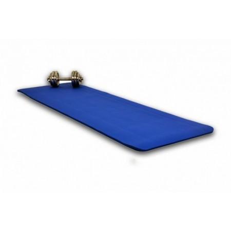 Pěnová podložka na jógu a cvičení, 190 x 60 x 1,5 cm, modrá