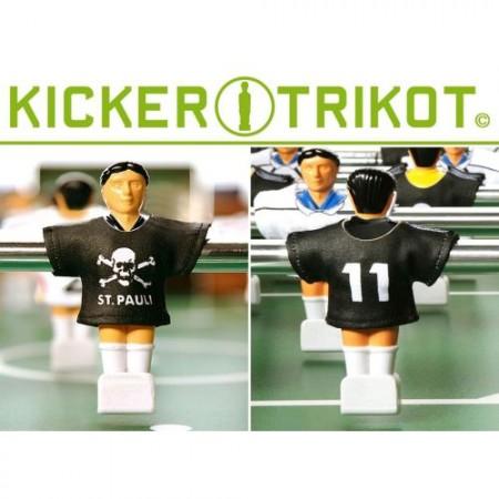 11 ks dresy pro figurky stolního fotbalu- St Pauli