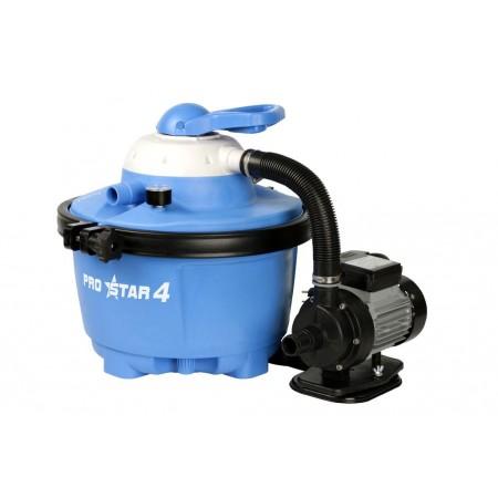 Písková filtrace k bazénům, samostatný motor, 4 m3/hod