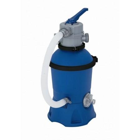 Písková filtrace k bazénům, samostatný motor, 2 m3/hod