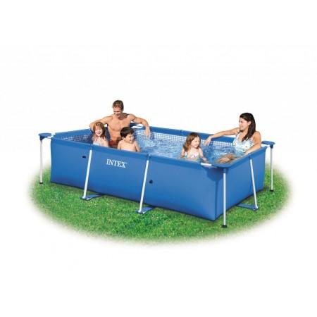 Rodinný obdélníkový nadzemní bazén 2,0 x 3,0 x 0,75 m