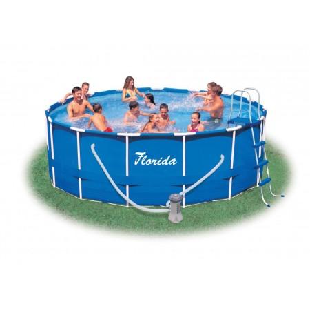 Rodinný kruhový nadzemní bazén 4,57 x 1,22 m