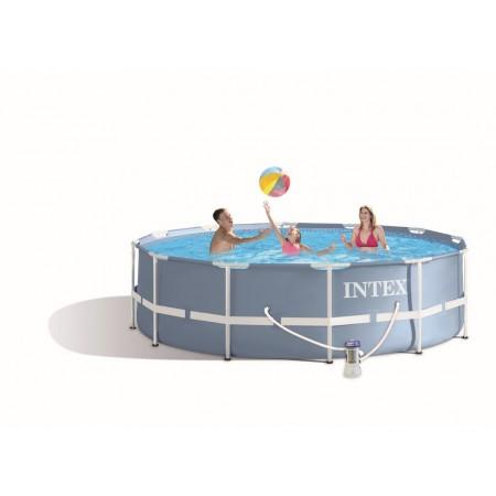 Rodinný kruhový nadzemní bazén 3,66x0,99 m + filtrace