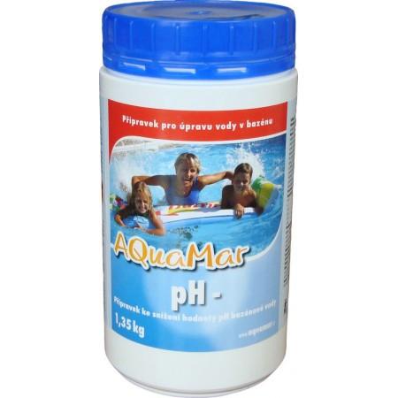 Aquamar snížení hodnoty pH (pH-) do bazénu, 1,35 kg