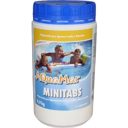 Malé chlorové tablety do bazénu 0,9 kg