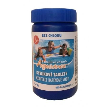 Kyslíkové tablety do bazénu 0,9 kg
