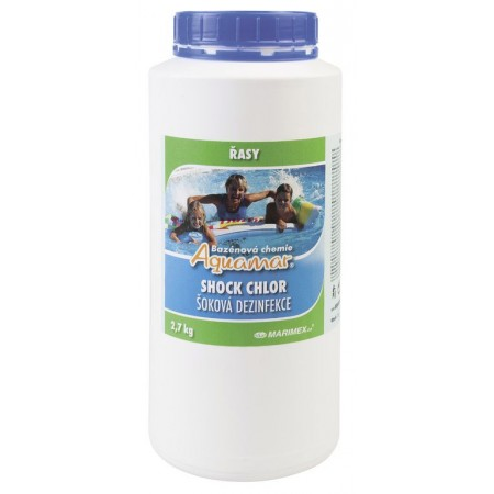 Chlorový granulát- šoková desinfekce, 2,7 kg