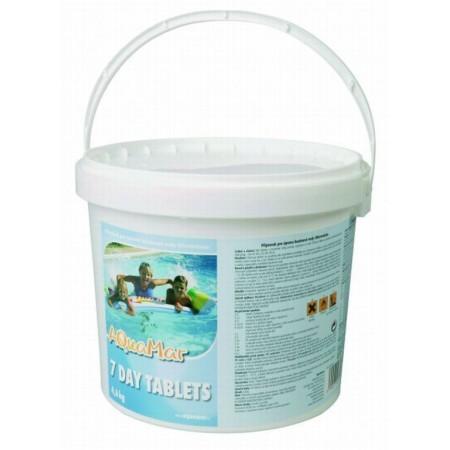 Velké chlorové tablety do bazénu, 4,6 kg
