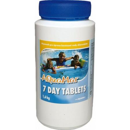 Velké chlorové tablety do bazénu, 1,6 kg