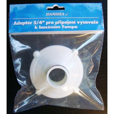 PLastový adaptér pro připojení vysavače k filtraci