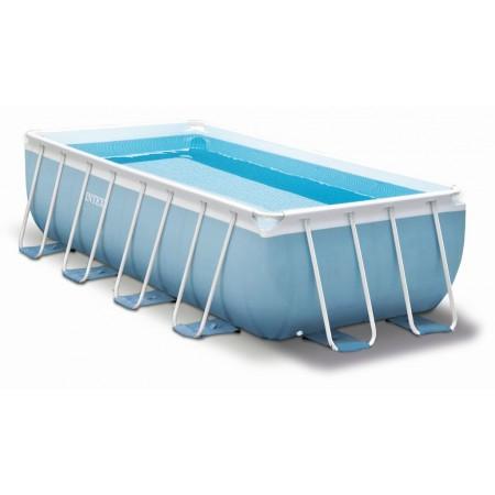Velký obdélníkový nadzemní bazén 2x4x1 m + filtrace