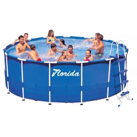 Kulatý nadzemní rodinný bazén 3,05x0,76 m, bez filtrace