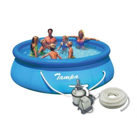 Nadzemní bazén 3,66x0,91 m + písková filtrace