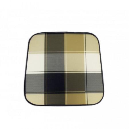 Sedák / polstr na židli, kostkovaný vzor, barevný
