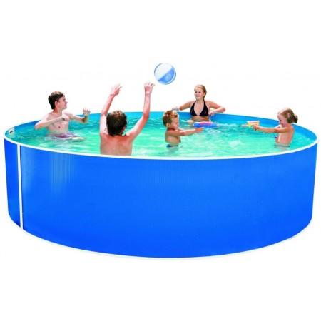 Velký kulatý nadzemní bazén 3,66x0,91 m, kovová konstrukce