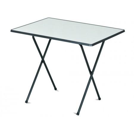 Skládací venkovní kempinkový stolek 60x80 cm, hliník / sevelit