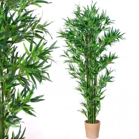 Velká umělá rostlina- bambus jako živý, 190 cm
