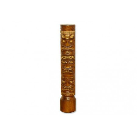 Dřevěný totem ručně vyřezávaný 2, 100 cm