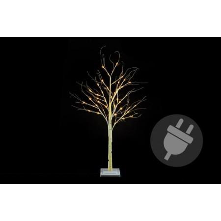 Umělý svítící strom- bříza, venkovní / vnitřní, 120 cm
