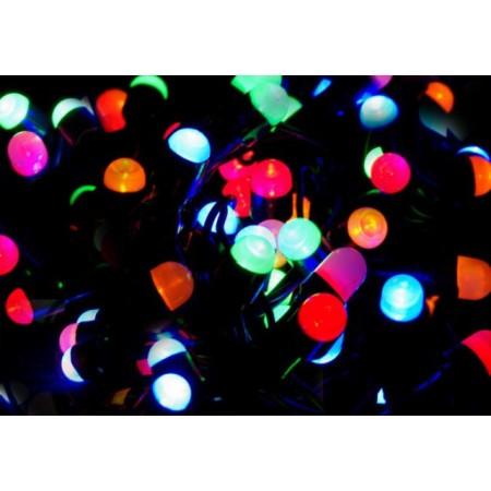 Vánoční světelný řetěz barevný, 200 MAXI LED diod, 20 m