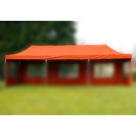 Samostatná střecha s zahradním párty stanům 3x9 m, terakota