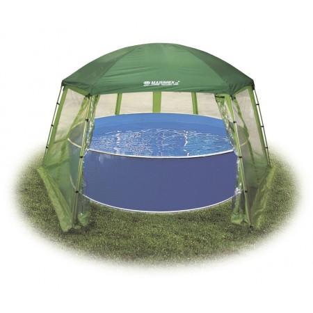 Průhledný kryt / fóliovník pro nadzemní bazény, do průměru 3,66 m
