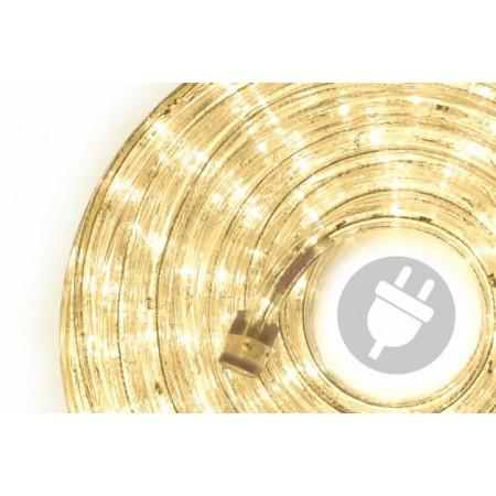 Venkovní světelný kabel, LED diody, teple bílý, 40 m