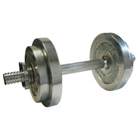 Jednoruční nakládací činka s proměnnou hmotností, 10 kg