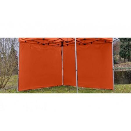 Sada 2 bočních stěn pro PROFESIONÁLNÍ zahradní skládací altán 3 x 3 m - terakota