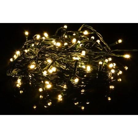 Světelný LED řetěz na dálkové ovládání, venkovní / vnitřní, 3,9 m