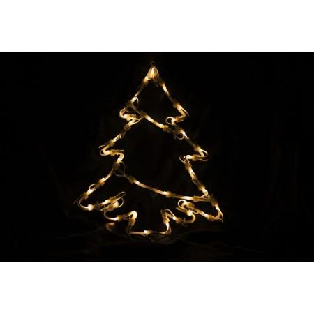 Vánoční osvětlený strom k zavěšení, do bytu, 30 cm