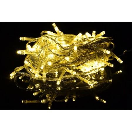 Vánoční LED osvětlení na baterie, vnitřní, řetěz 1,35 m